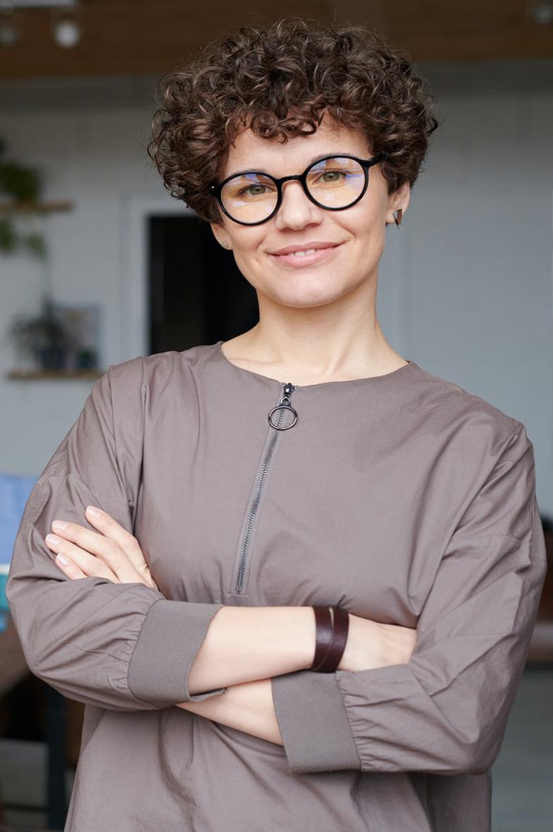 image of woman smiling facing camera